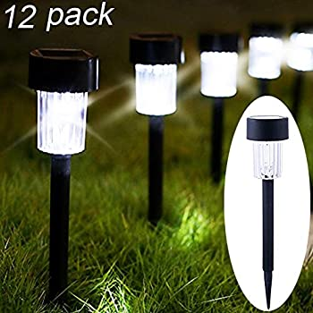 Charmant Maggift 12 Pack Solar Pathway Lights Solar Garden Lights Outdoor Solar  Landscape Lights For Lawn, Patio, Yard, Walkway, Driveway