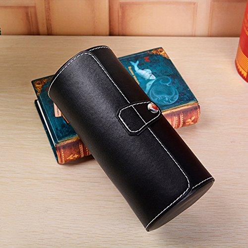 Amazon.com: Gift Set 12 Slot Leather Watch Box & Matching