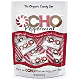 OCHO Candy The Organic Bar Peppermint Creme Minis, 8 oz