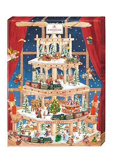 Niederegger Advent Calendar Pyramid 525 g / 19 unze