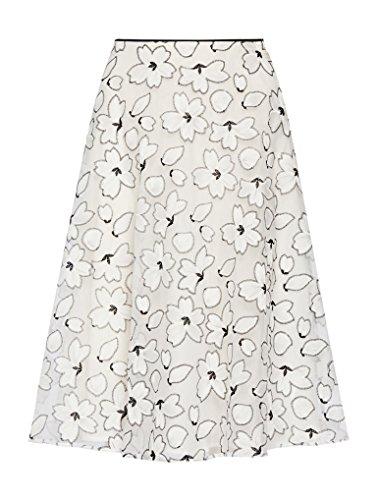 Pennyblack Gea Falda, Mujer Multicolor (fantasia bianco)