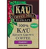 100%カウコーヒー カウコーヒーミル 等級:ピーベリー 8オンス(225g) 【ハワイ島カウ産】 並行輸入品 日本未発売★豆は挽いていません。