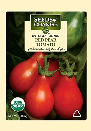 Seeds of Change 05806 Certified Organic Seed, Red Pear Tomato