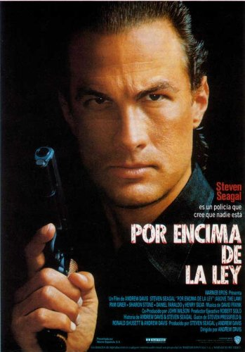 Amazon com: Above The Law Movie Poster (11 x 17 Inches