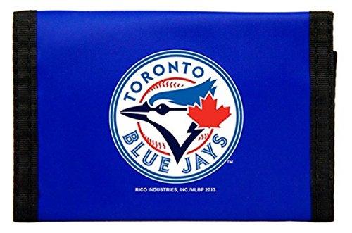 Rico MLB Toronto Blue Jays Nylon Trifold Wallet