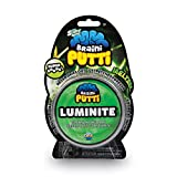 OrbSlimy Braini Putti Luminite Green Toy | Kids Bouncy Safe Silly Putty for Play | 90g