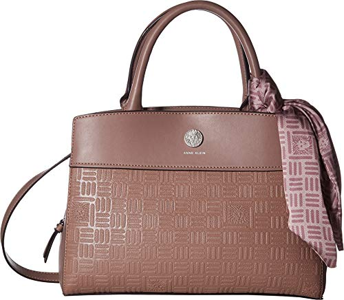 Anne Klein Women's Emboss Lion Top-Handle Lilac One Size