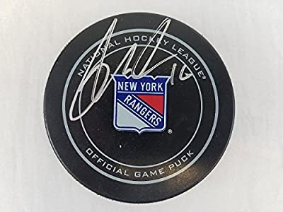 Signed Derick Brassard Hockey Puck - Official NHL #AA29310 - PSA/DNA Certified - Autographed NHL Pucks