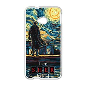 Happy Starry Fall (Sherlock) Cell Phone Case for HTC One M7