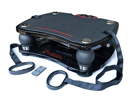 VT High Speed Full Body Vibration Platform Fitness Machine, Deep Tissue Whole Body Vibration, 15 - 45 Hz, VT003F by Vibration Therapeutic