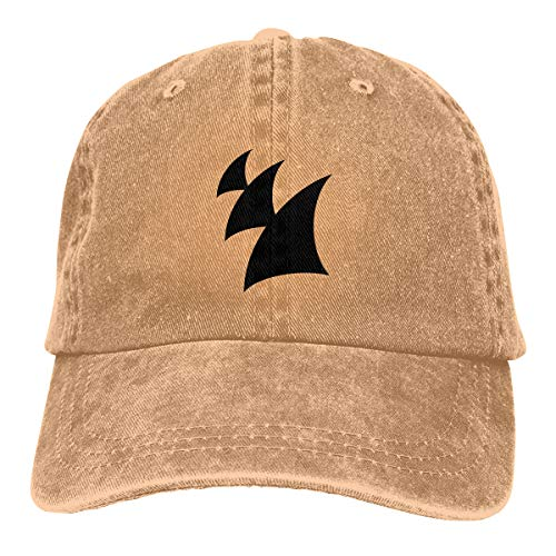Armada Music Black Adult Male and Female Cowboy Hat Sun Protection Visor Classic Casquette