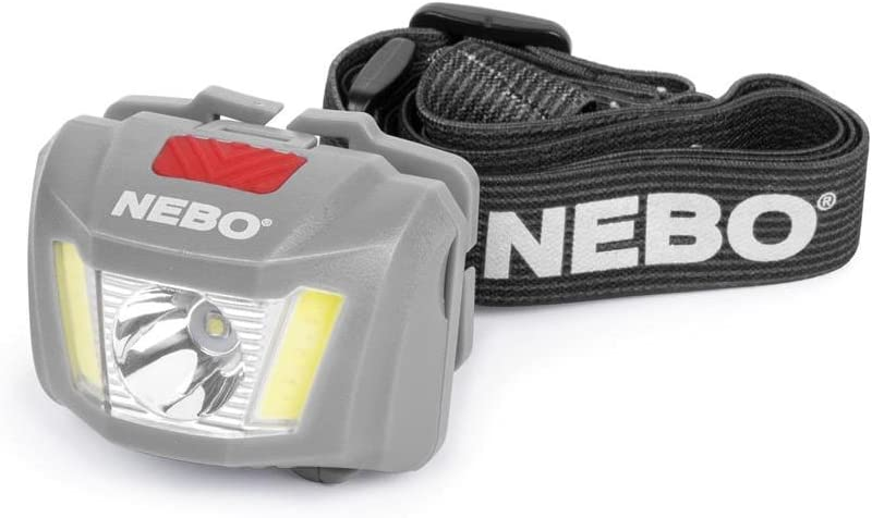 NEBO DUO 250 LUMEN HEADLAMP TORCH LIGHT BRAND NEW AND CARDED