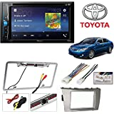 Pioneer AVH-200EX 2-Din 6.2 DVD/CD/iPhone/Android/Bluetooth + TOYOTA CAMRY 2007 2008 2009 2010 2011 CAR STEREO RADIO CD PLAYER RECEIVER INSTALL MOUNTING KIT WIRE HARNESS