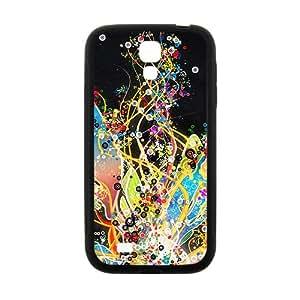Creative Colorful Pattern Custom Protective Hard Phone Cae For Samsung Galaxy S4