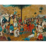 Canvas Prints Of Oil Painting ' Richard Dadd - The Flight Out Of Egypt,1849-1850' 20 x 25 inch / 51 x 64 cm , High Quality Polyster Canvas Is For Gifts And Bath Room, Nursery And Study Room Decoration