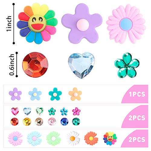 BigOtters 40PCS Shoe Charms, Wristband Bracelet Charms Shoe Decoration Charms Party Gift Decor for Girl and Boys Slip on