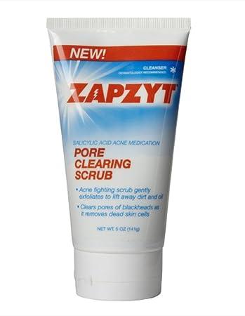 Amazon Com Zapzyt Pore Clearing Scrub 5 Oz Beauty