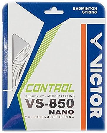 10 m Victor VS-850 Nanotec Cordaje para Raquetas de b/ádminton