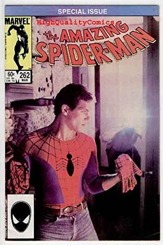 Amazing SPIDER-MAN #262, VFN, Photo Cover , 1963, more ASM in store, (Asm Cover)