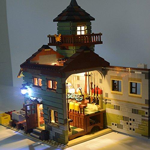 LED Light kit for LEGO Ideas Old Fishing Store 21310 LIGHTAILING