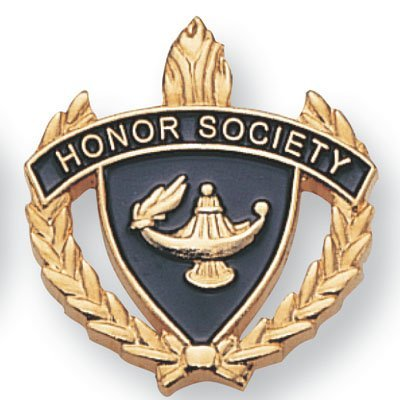 Society Lapel Pin - Honor Society Lapel Pin - Pack of 12