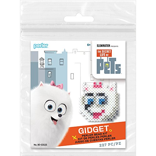 Pets Activity - Perler Beads Secret Life Pets Activity Kit-Gidget_80-53025