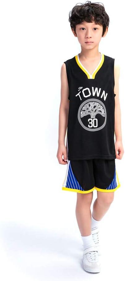 KSWX Camiseta de Baloncesto Warriors # 30 Stephen Curry Trajes De ...