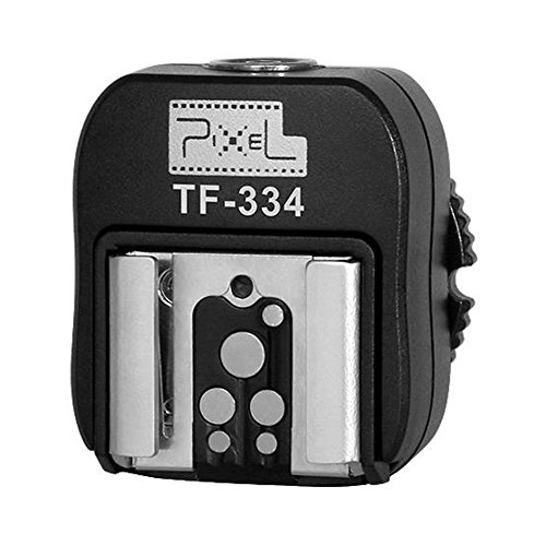 Pixel TF-334 Flash Hot Shoe Adapter for Converting Sony Mi to Canon/Nikon Flash with PC Port
