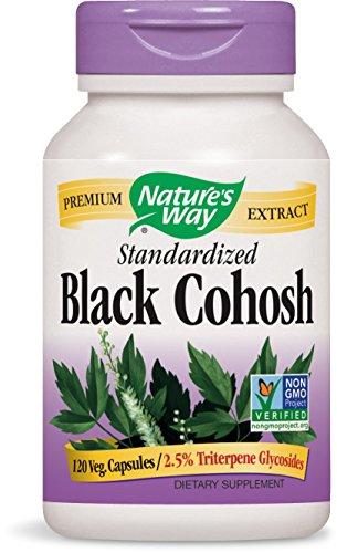 Nature's Way Black Cohosh Root, 120 Vcaps