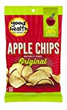 Good Health Natural Apple Chips, 3 Ounce - 12 per case.