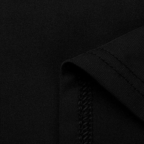 DAY8 chemise femme chic soiree manteau femme grande taille Printemps pull femme hiver blouse femme dentelle vetement femme pas cher chemisier femme été mode top haut t shirt fille fashion Noir