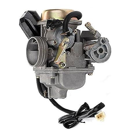 Amazon.com: Monster Motion 150cc Carburetor for Baja 150 (BA150) ATV on baja scooter 48 volt wiring schematic, baja motorsports reaction 150 wiring diagram, baja dune buggy,