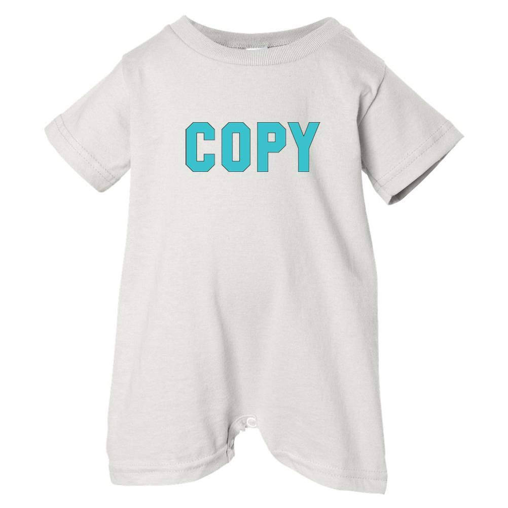 Blue So Relative Unisex Baby Copy T-Shirt Romper