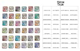 Tim Holtz and Ranger Complete Set of 36 Distress Oxide Ink Pads, Bundle includes 36 Distress Oxide Ink pads and Bonus Oxide Ink Color Chart, 37 piece bundle