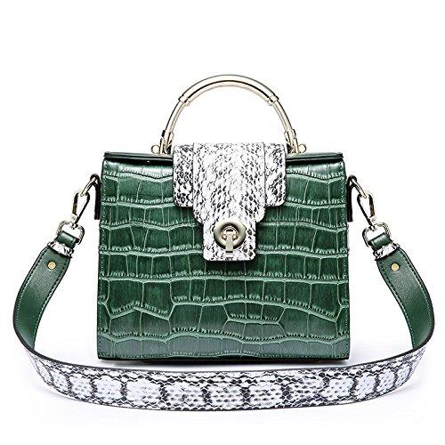 GUANGMING77 _Bag Tasche Tasche Weibliche Hand Kylie Blackish green KVOSGbJ01