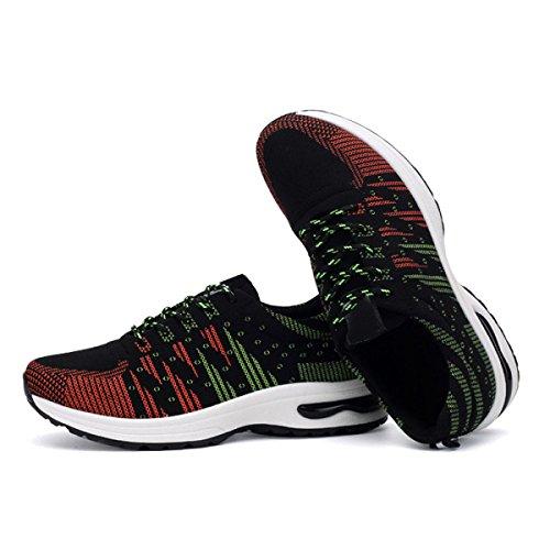La Moda Azul Verde Negro Opcional Zapatos De Tamaño Informal De Primavera Y Otoño Al Aire Libre De Los Hombres Green