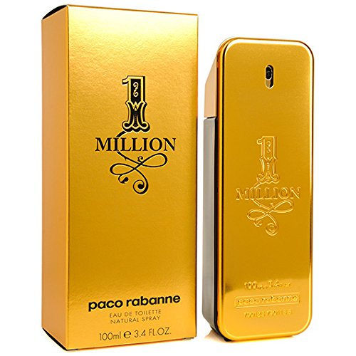 Jadore Summer Fragrance (Paco Rabanne 1 ONE MILLION EDT 100ml 3.4oz Eau de Toilette Men NEW SEALED BOX)