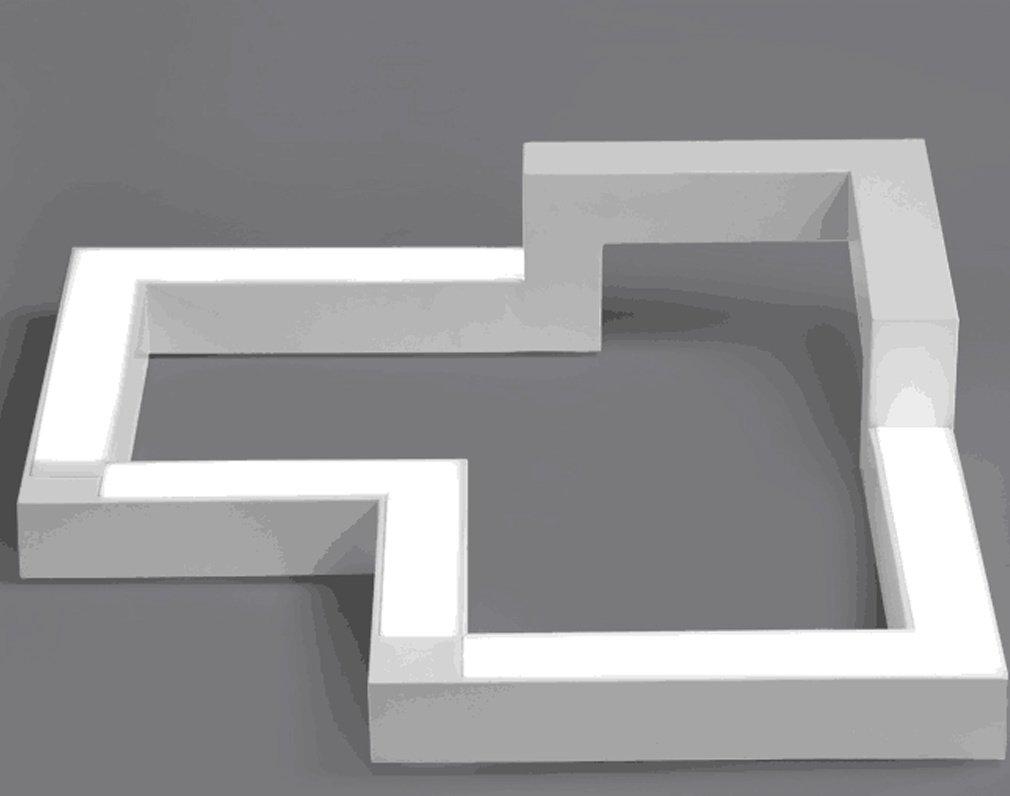 Plafoniere Eleganti Da Soffitto : 30w led plafoniera moderno acrilico bianca pendente lampadario