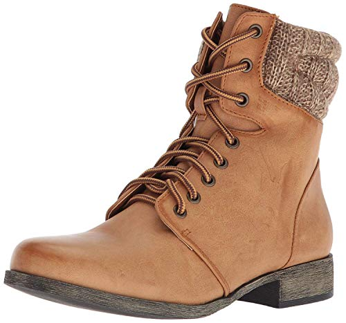 MIA Women's MELBORNE Ankle Boot, tan, 7 M US