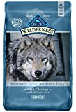 BLUE Wilderness Adult Grain Free Chicken Dry Dog F...