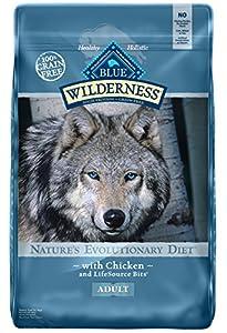 BLUE Wilderness Adult Grain Free Chicken Dry Dog Food 24-lb
