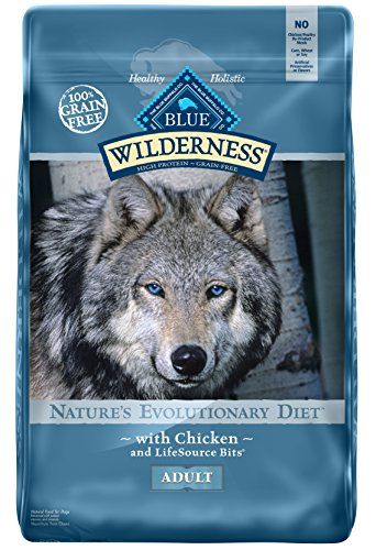 BLUE Wilderness Adult Grain Free Chicken Dry Dog Food 24-lb