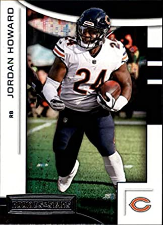 37d57c2b5c7 2018 Rookies and Stars Football #52 Jordan Howard Chicago Bears Official NFL  Trading Card Produced