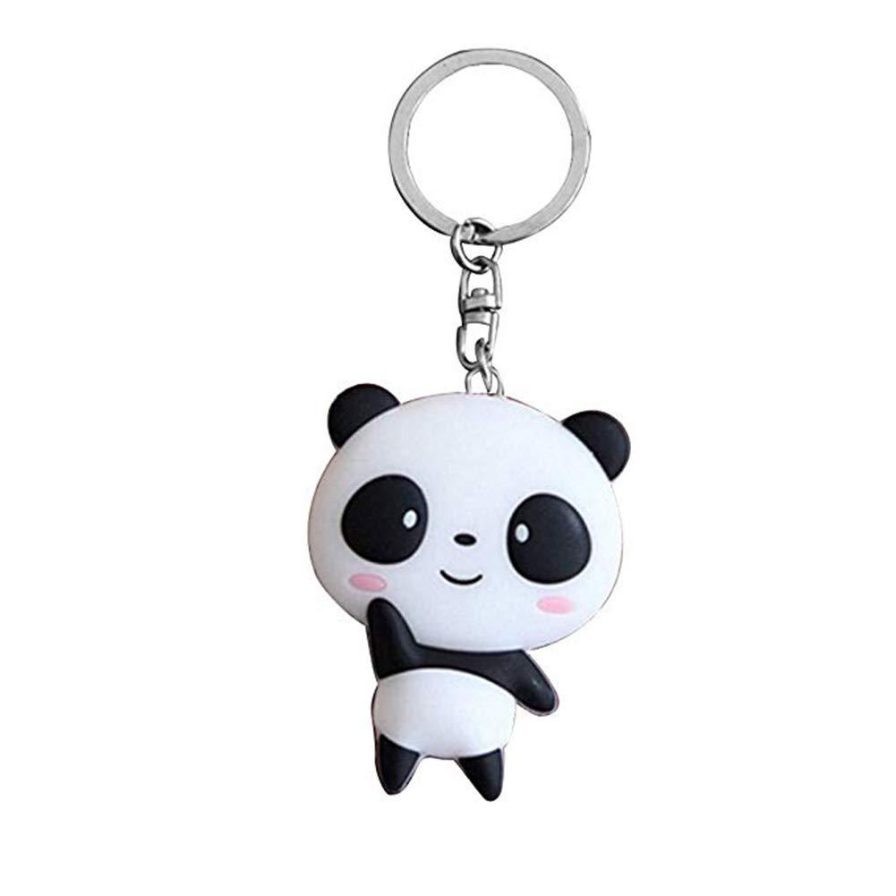 Wansan Panda Keychain Cute Hanging Pendant Charm Backpack Purse Keyring for Women Girls Kids