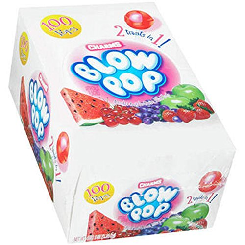 Charms Blow Pop Assorted - 100 Ct. - (Assorted Pop)