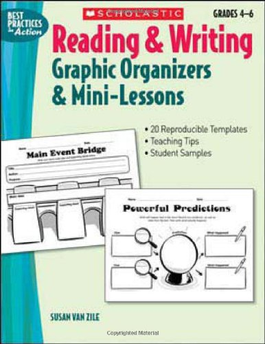 Reading & Writing Graphic Organizers & Mini-Lessons (Best Practices In Action)