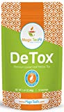 Organic DeTox Tea - Body Cleanse, Caffeine-free, TOP Quality, Tasty, Unique Blend, and Detoxify Tea From Magic Teafit