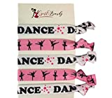 Dance Hair Ties- Girls Dance Hair Accessories- Dance Elastics - Perfect Gift For Dance Recitals