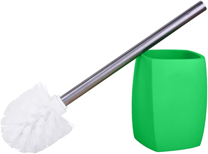 maniglia di acciaio inossidabile facile de pulire con testina sostituibile grande scelta di belli scopini wc Scopino wc Wave Black