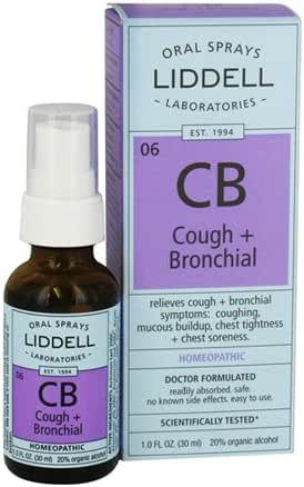 Liddell, Cough and Bronchial Congestion, 1 Ounce